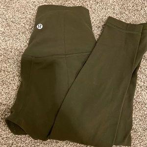 """Lululemon size 4 align 28"""" leggings"""